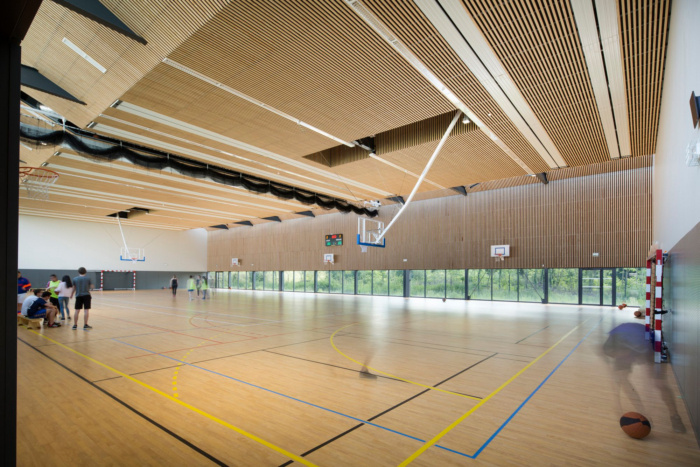 Gymnasium of the Louis de Cormontaigne High School - 0