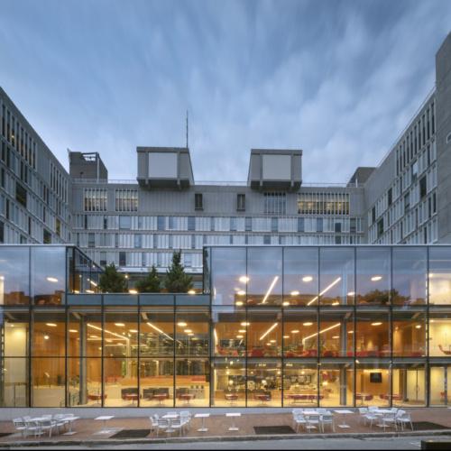 recent Harvard University – Smith Campus Center Renovation and Partial Façade Restoration healthcase design projects