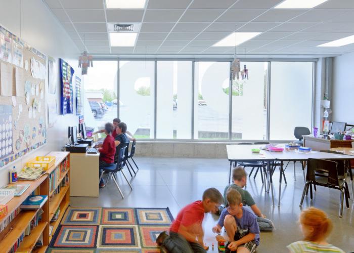elementary classroom design example