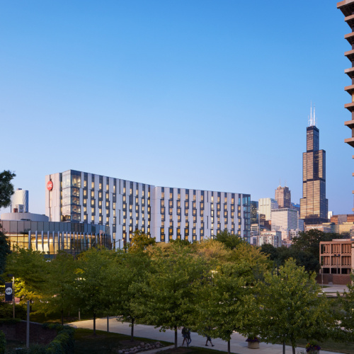 University of Illinois at Chicago – Academic and Residential Complex