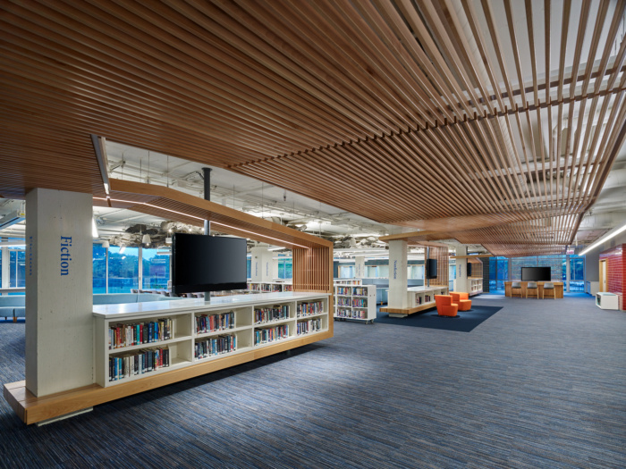 Francis W. Parker School Kovler Family Library - 0
