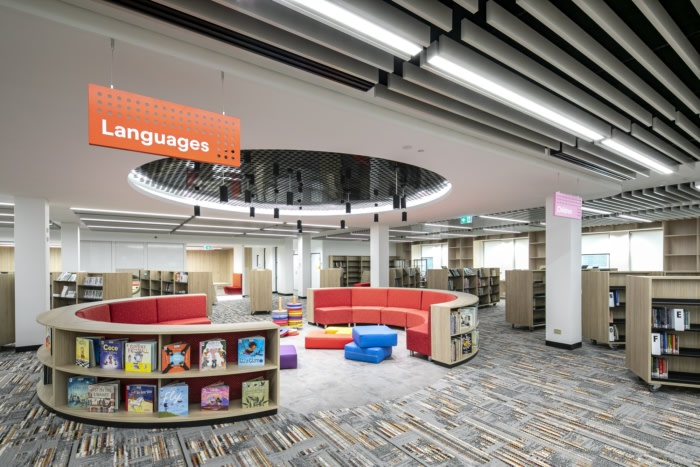 Burwood Council Community Hub, Library and Workplace - 0